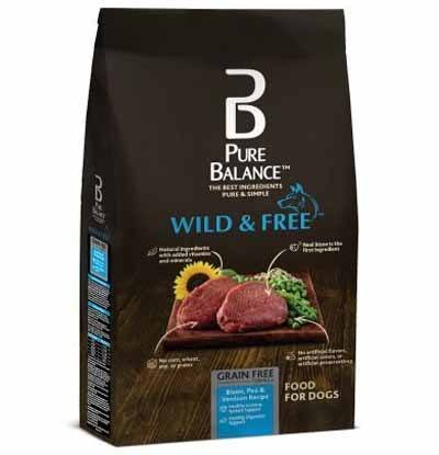 Pure Balance Wild And Free Bison Venison Dog Food